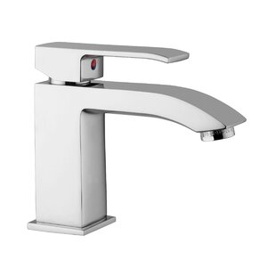WS Bath Collections Lever Single Hole Bathroom Faucet with