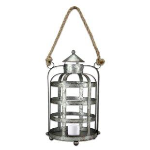 Outdoor Metal Lantern by Gracie Oaks