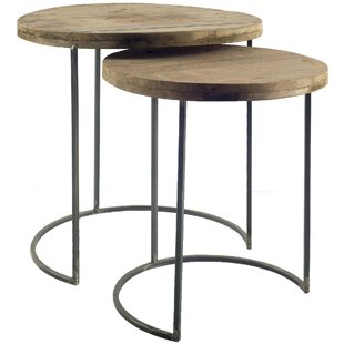 Ceja 2 Piece Nesting Tables by Union Rustic