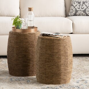 Naples Seagrass Stool by Birch Lane™ Heritage