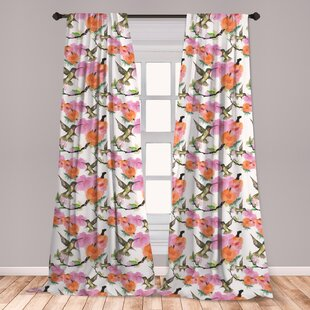Hummingbird Curtains Wayfair