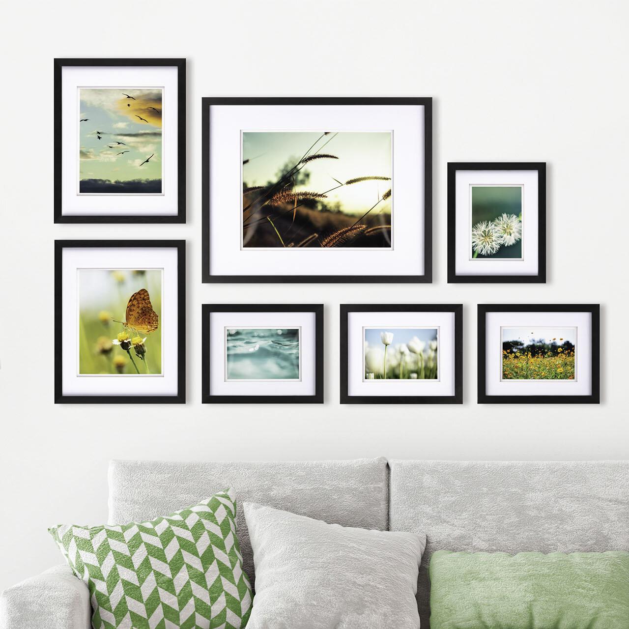 Goin 20 Piece Matte Wood Gallery Wall Frame Set