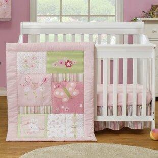 Affordable 3 Piece Crib Bedding Set ByBaby Time International, Inc.