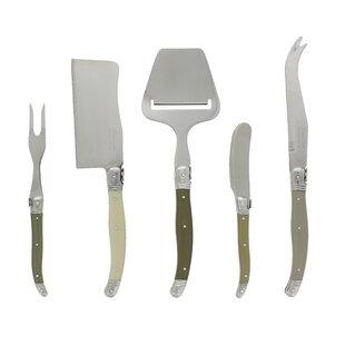 Hixon Mist Laguiole 5 Piece Knife Set