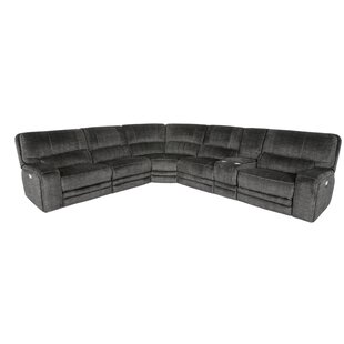 Shop Ferber Power Reclining Sectional by Red Barrel Studio