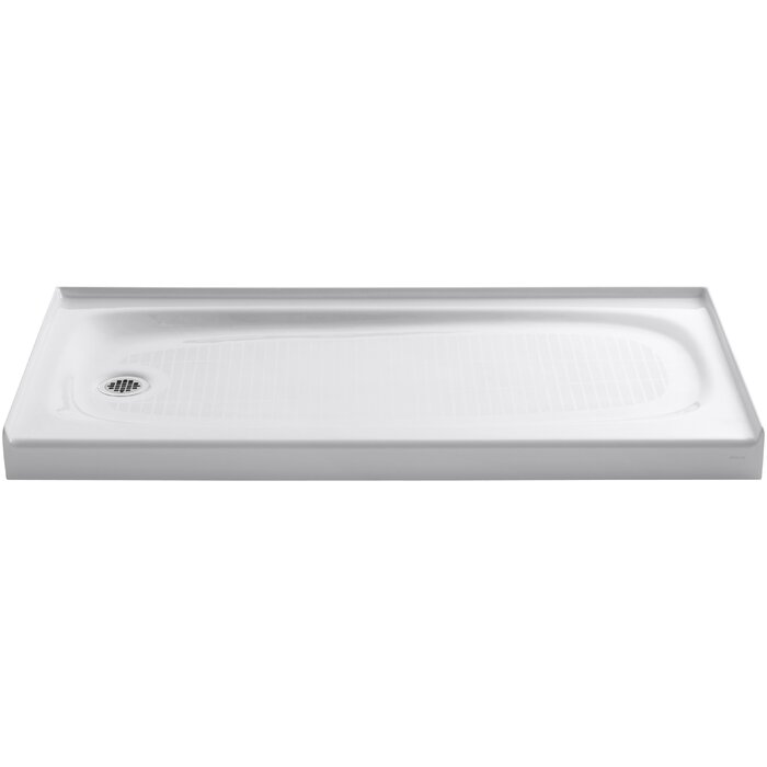 Salient 60 X 30 Single Threshold Left Hand Drain Shower Base
