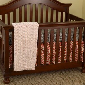 Here Kitty Kitty 3 Piece Crib Bedding Set