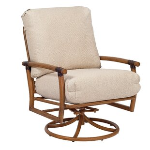 Glade Isle Swivel Rocking Patio Chair with Cushions