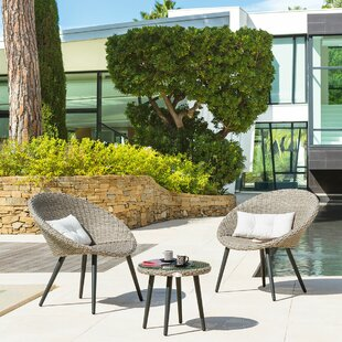 Fahim 2 Seater Bistro Set With Cushions By Sol 72 Outdoor