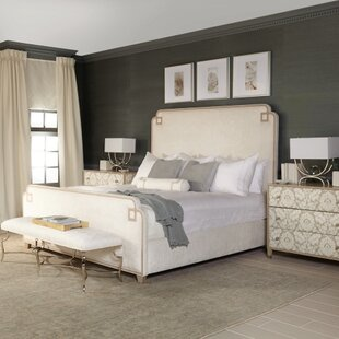 Bernhardt Savoy Place Upholstered Panel Bed