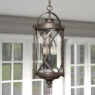 Bungalow Rose Ginsburg 3-Light Hanging Lantern