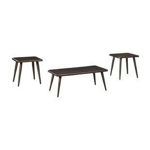 Williston Forge Sapphire 3 Piece Coffee Table Set