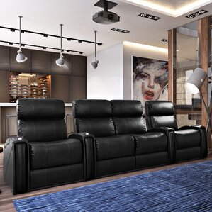 Home Theatre Loveseat (Row Of 4)