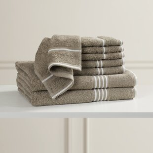 8 Piece Egyptian-Quality Cotton Towel Set By Alcott Hill