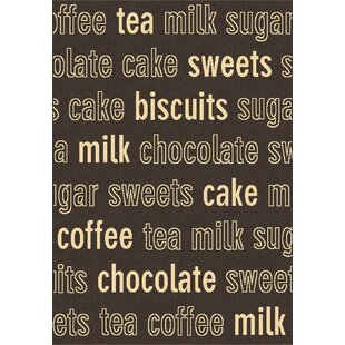 Trend Chocolate Novelty Rug By Dynamic Rugs
