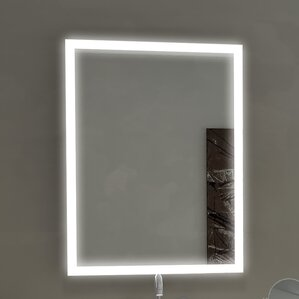 Aurora Illuminated Bathroom Vanity Wall Mirror