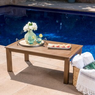 Bozarth Outdoor Aluminum Coffee Table by Ivy Bronx Today Only Sale