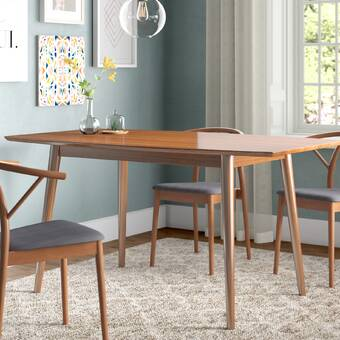 Corrigan Studio Weller Mid Century Dining Table Reviews
