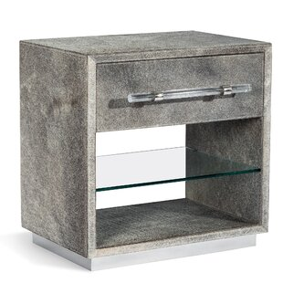 Cassian 1 Drawer Nightstand