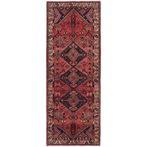 One-of-a-Kind Anston Hand-Knotted Red Area Rug