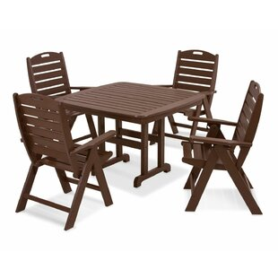 POLYWOOD® Nautical 5-Piece Di..