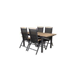Anoki 4 Seater Dining Set By Ebern Designs