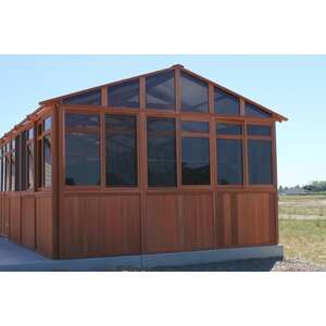 Solchalet 12.5 Ft. W x 16.5 Ft. D Wood Permanent Gazebo