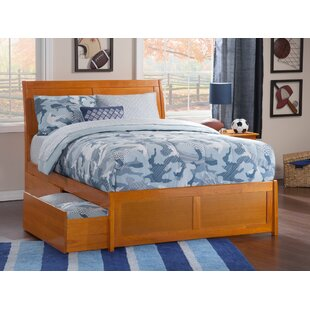 Esparza Storage Platform Bed by Three Posts New