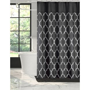 Alexei Foil Shower Curtain