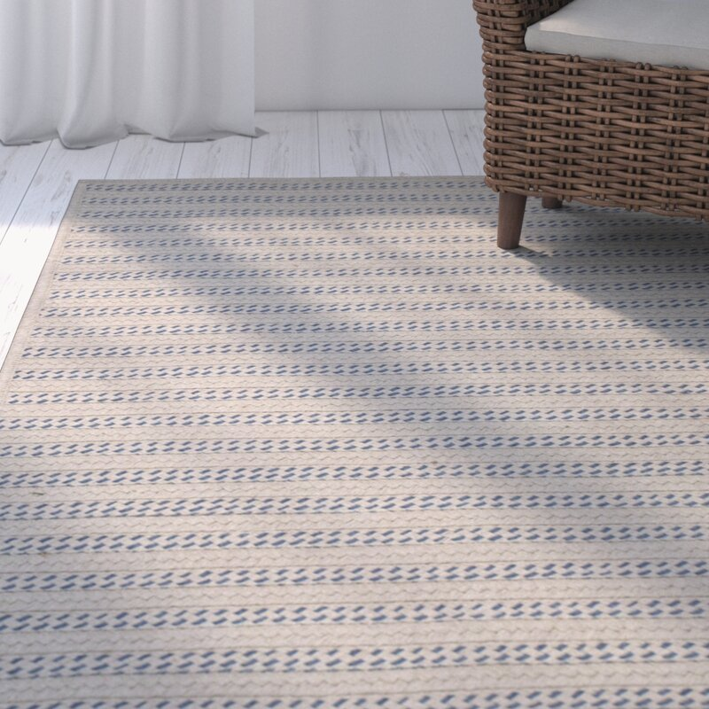 Oden Striped Hand Woven Natural