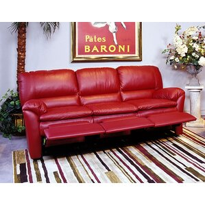 Luxor Leather Reclining Sofa by Omnia Leather
