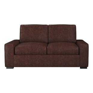 Westland and Birch Howard Leather Loveseat