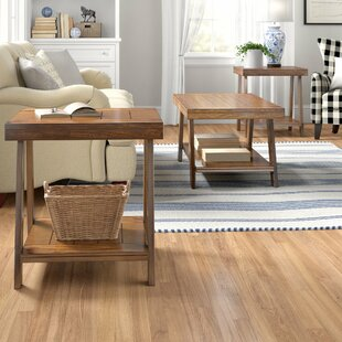 Madill 3 Piece Coffee Table Set by Three Posts