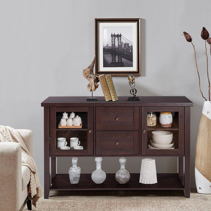 6b65116df6052e Charlton Home Boxford Buffet TV Cabinet Wooden Sideboard | Wayfair