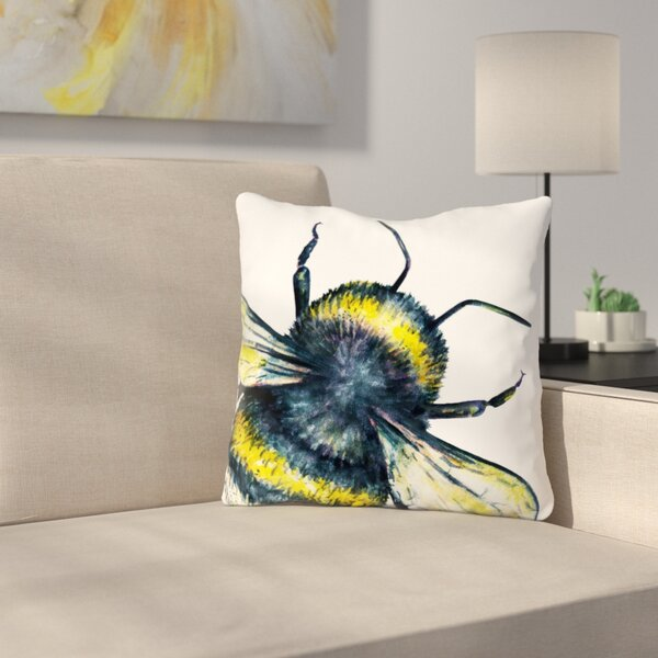 Bumble Bee Throw Pillow Wayfair