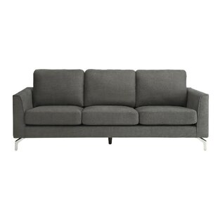 Plummer Padded Sofa by Orren Ellis