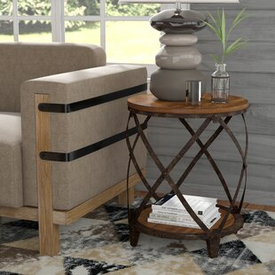Eufaula End Table by Loon Peak