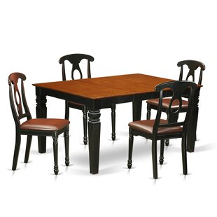 Darby Home Co Belding 5 Piece Dining Set