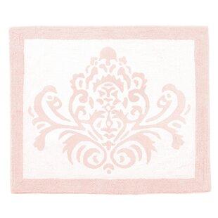 Amelia Cotton Blush Pink/White Area Rug