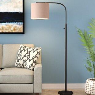 Mercury Row Bonds Arched Floor Lamp