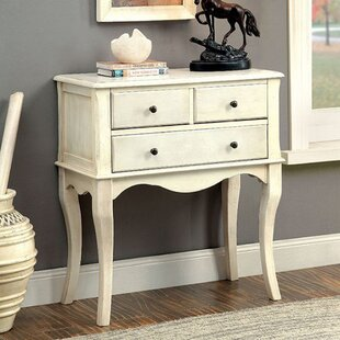One Allium Way Aria Vintage Hallway Console Table