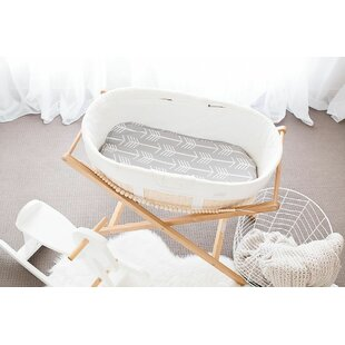 Small Bassinet Arrows Mattress Cover
