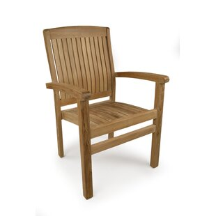 Teak Stacking Chair By Sol 72 Outdoor