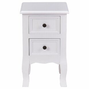 Kip 2 Drawer Nightstand (Set of 2)