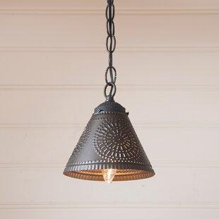 Gracie Oaks Westin 1-Light Cone Pendant