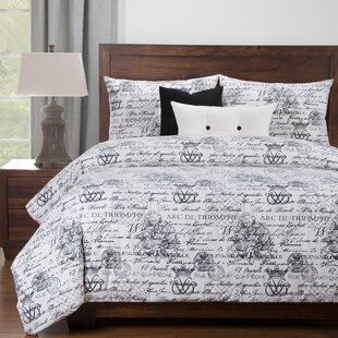 Ophelia & Co. Whitlow Luxury Duvet Cover and Comforter Insert Set