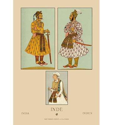 Indi Mogul Emperors By Auguste Racinet Vintage Advertisement Buyenlarge