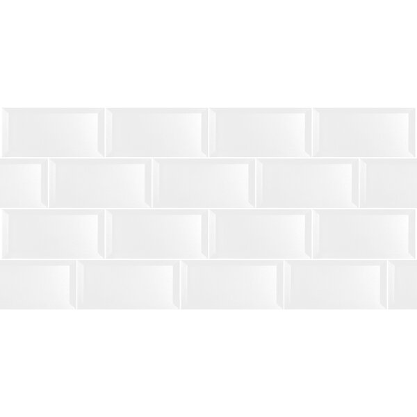 excellent dimensions of subway tile. Abolos Secret Dimensions 3  x 6 Glass Subway Tile in Glossy White Reviews Wayfair