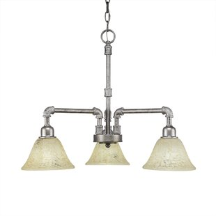 Kash 3-Light Shaded Chandelier by Williston Forge