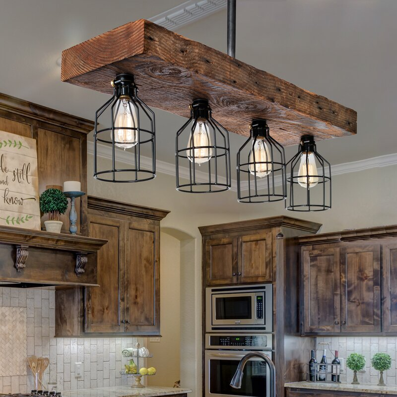 Corydon 4-Light Kitchen Island Pendant